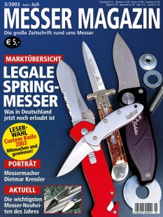 MESSER MAGAZIN 3/2003