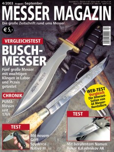 MESSER MAGAZIN 4/2003