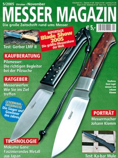 MESSER MAGAZIN 5/2005