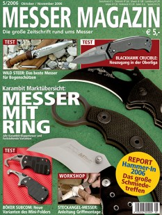 MESSER MAGAZIN 5/2006