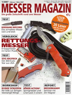 MESSER MAGAZIN 1/2007