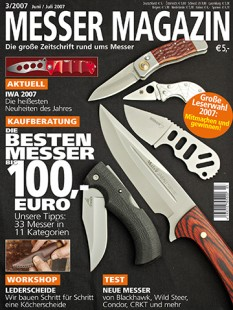 MESSER MAGAZIN 3/2007