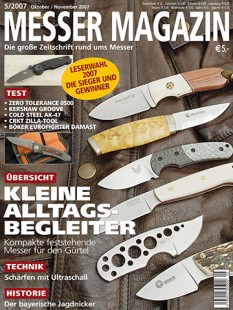 MESSER MAGAZIN 5/2007