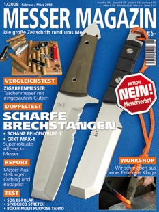 MESSER MAGAZIN 1/2008