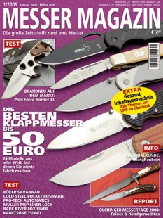 MESSER MAGAZIN 1/2009