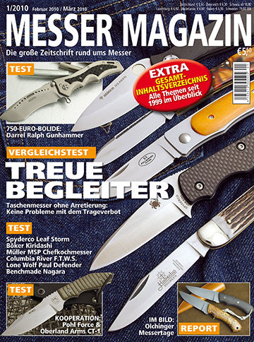 MESSER MAGAZIN 1/2010