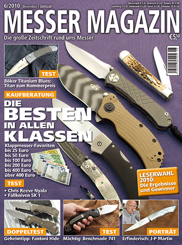 MESSER MAGAZIN 6/2010
