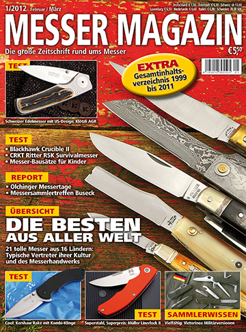 MESSER MAGAZIN 1/2012