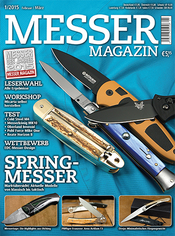MESSER MAGAZIN 1/2015