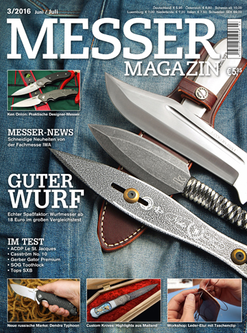 MESSER MAGAZIN 3/2016