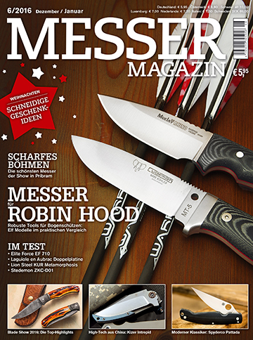 MESSER MAGAZIN 6/2016