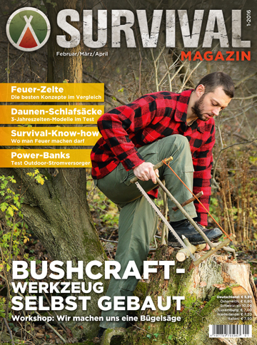 SURVIVAL MAGAZIN 1/2016
